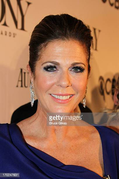 Actress Rita Wilson attends the 67th Annual Tony Awards at Radio City Music Hall on June 9 2013 in New York City