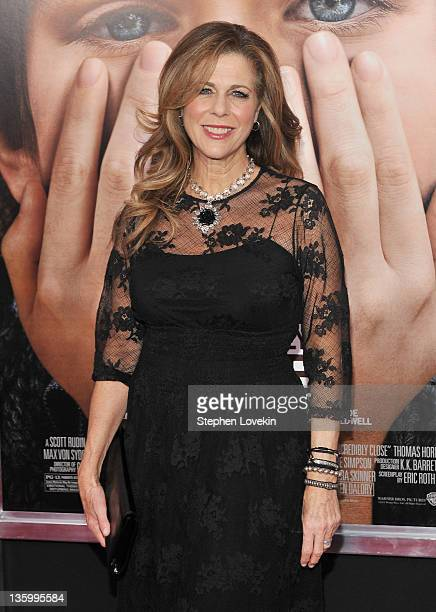 Actress Rita Wilson attends the Extremely Loud Incredibly Close New York premiere at the Ziegfeld Theater on December 15 2011 in New York City