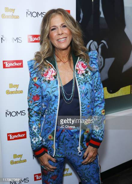Actress Rita Wilson attends the Mamarazzi event screening of 'Boy Genius' at Arena Cinelounge on September 10 2019 in Hollywood California