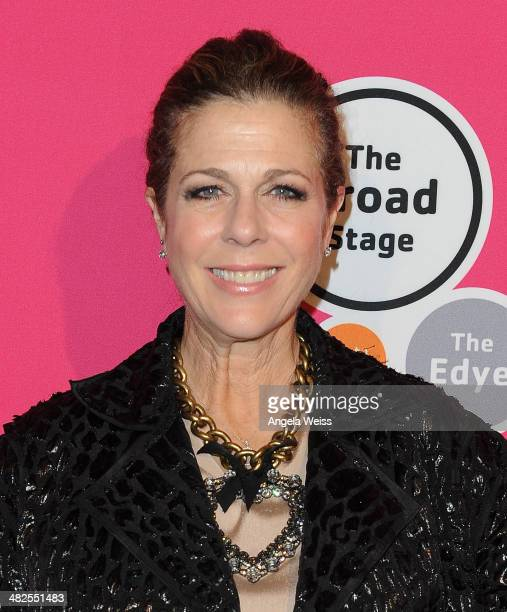 Actress Rita Wilson attends the opening night of Midsummer Night's Dream from the creators of The Tony AwardWinning hit War Horse at The Broad Stage...