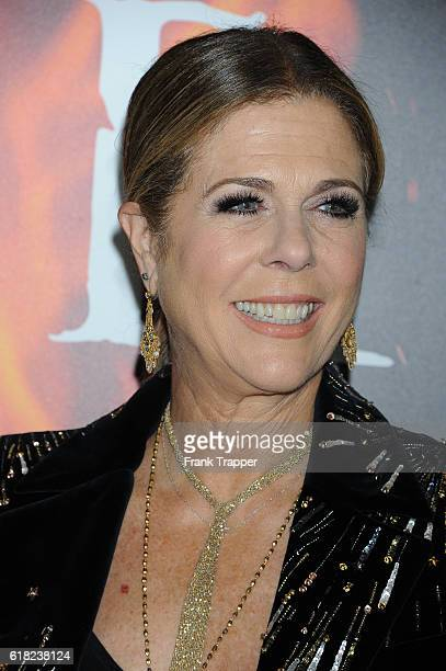 Actress Rita Wilson attends the screening of Sony Pictures Releasing's Inferno held at the DGA Theater on October 25 2016 in Los Angeles California
