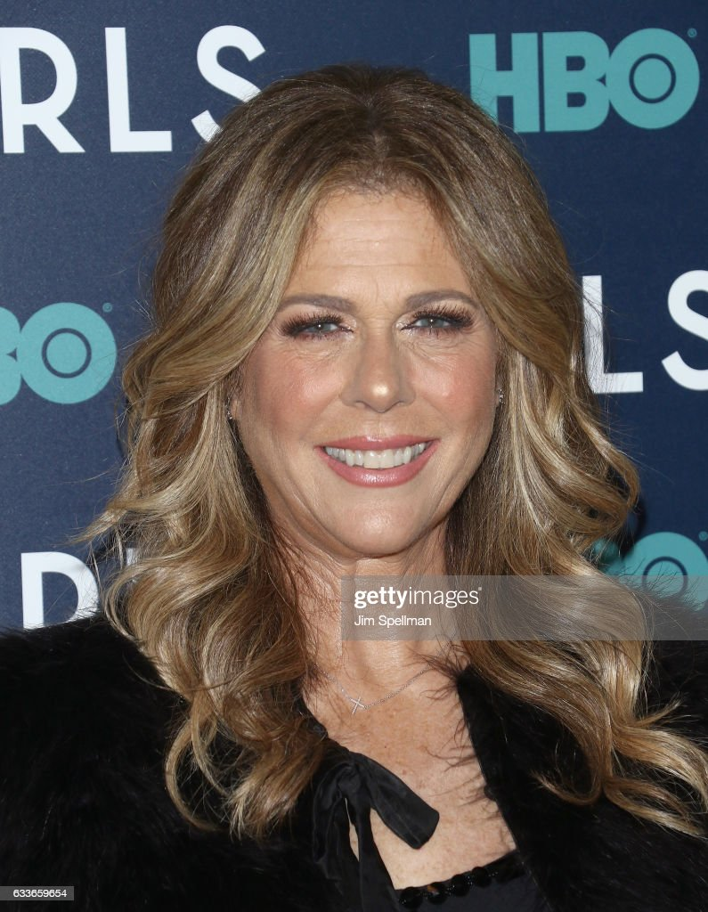 Actress Rita Wilson attends the the New York premiere of the sixth and final season of 'Girls' at Alice Tully Hall, Lincoln Center on February 2, 2017 in New York City.