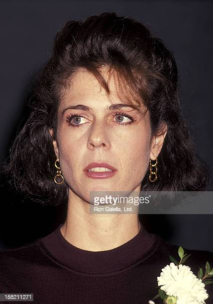 Actress Rita Wilson attends the Twelfth Night Play Performance on January 6 1991 at the Pasadena Playhouse in Pasadena California