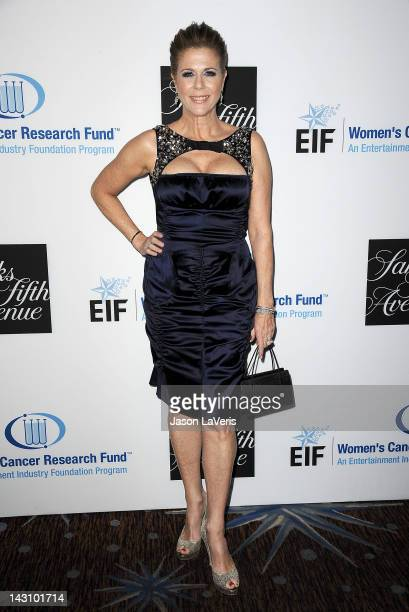 Actress Rita Wilson attends the Unforgettable Evening benefit at The Beverly Hilton Hotel on April 18 2012 in Beverly Hills California