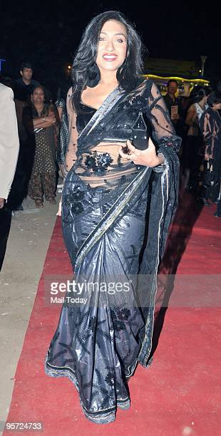 Actress Rituparna Sengupta at the Star Screen Awards in Mumbai on Saturday January 9 2010