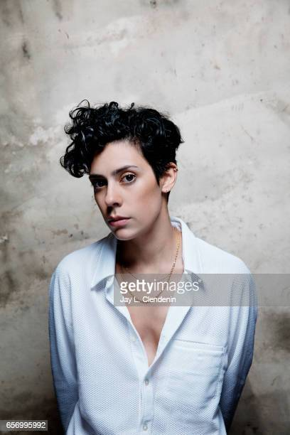 Actress Roberta Colindrez from the Amazon series I Love Dick is photographed at the 2017 Sundance Film Festival for Los Angeles Times on January 22...