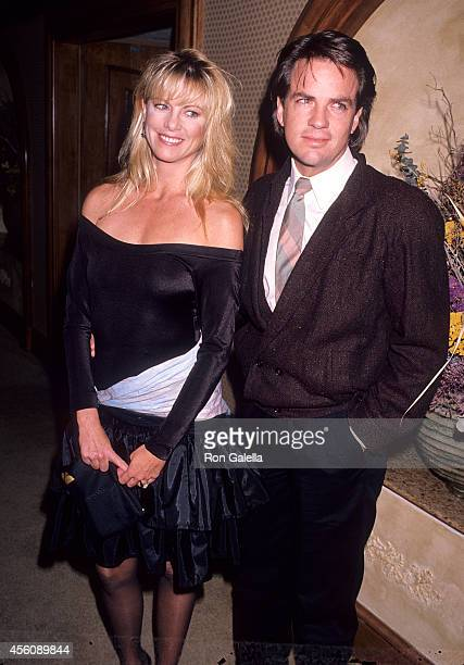 Actress Roberta Leighton and husband actor Corey Young attend the Great American Celebrity Road Rally to Benefit Second Chance and Bread for Life...