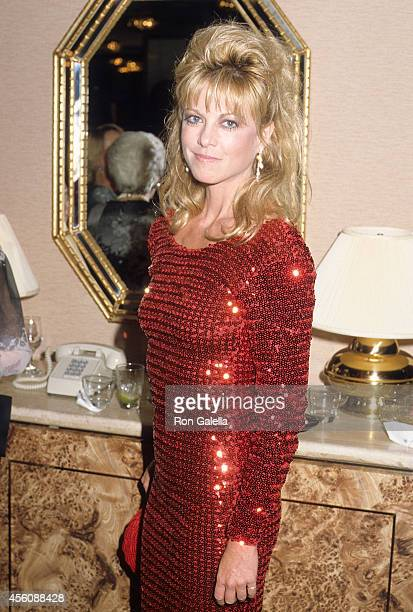 Actress Roberta Leighton attends the 31st Annual Thalians Ball on October 11 1986 at the Century Plaza Hotel in Century City California