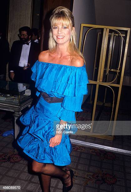 Actress Roberta Leighton attends the Collection at the Century Arabian Horses Auction and Cocktail Reception to Benefit amfAR on May 7 1988 at the...