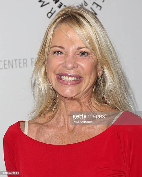 Actress Roberta Leighton attends The Young And The Restless celebrating 10000 episodes at The Paley Center for Media on August 23 2012 in Beverly...