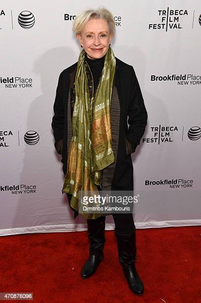 Actress Roberta Maxwell attends the premiere of Hungry Hearts during the 2015 Tribeca Film Festival at the SVA Theater on April 23 2015 in New York...