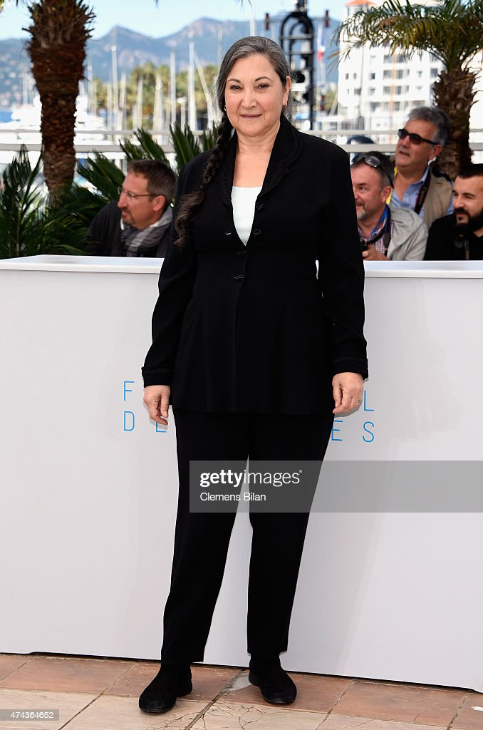Actress Robin Bartlett attends the 'Chronic' Photocall during the 68th annual Cannes Film Festival on May 22, 2015 in Cannes, France.