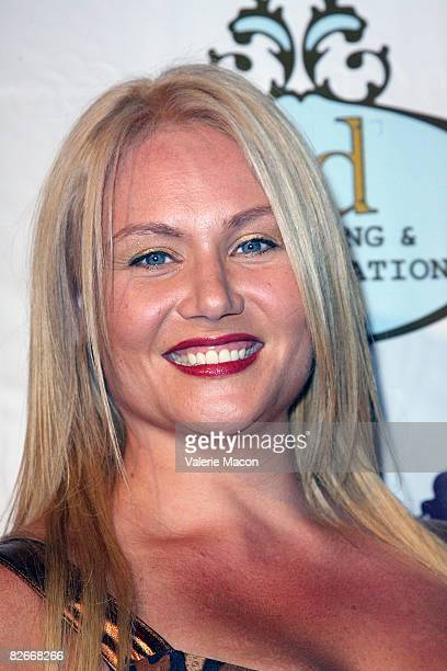 Actress Robin Coleman arrives at the Play Couture Celebrates Red Carpet Grand Opening on September 4 2008 in Los Angeles California