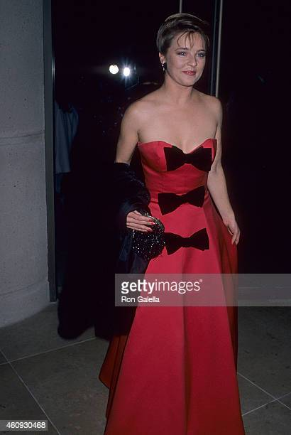 Actress Robin Mattson attends the Sixth Annual Soap Opera Digest Awards on January 14 1990 at the Beverly Hilton Hotel in Beverly Hills California