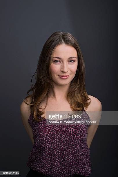 Actress Robin McLeavy is photographed for Variety at the Tribeca Film Festival on April 18 2015 in New York City