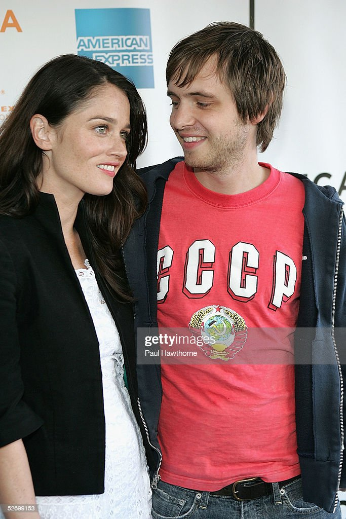 Actress Robin Tunney And Actor Aaron Stanford Arrive At The