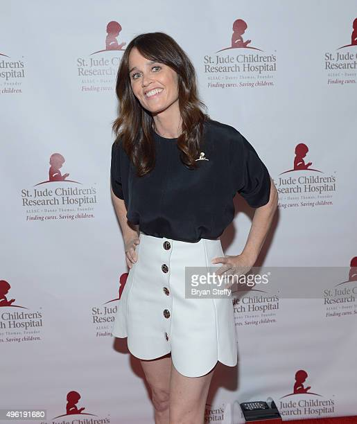 Actress Robin Tunney arrives at the St Jude Against All Odds Celebrity Poker Tournament at Palms Casino Resort on November 7 2015 in Las Vegas Nevada