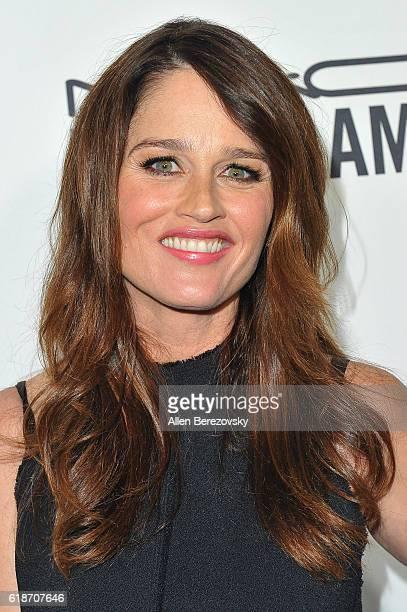 Actress Robin Tunney attends amfAR's Inspiration Gala Los Angeles at Milk Studios on October 27 2016 in Hollywood California