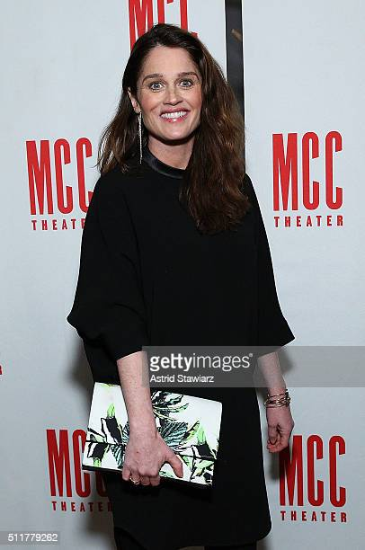 Actress Robin Tunney attends 'Smokefall' Opening Night After Party at SushiSamba 7 on February 22 2016 in New York City