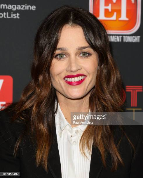 Actress Robin Tunney attends TV Guide magazine's annual Hot List Party at The Emerson Theatre on November 4 2013 in Hollywood California