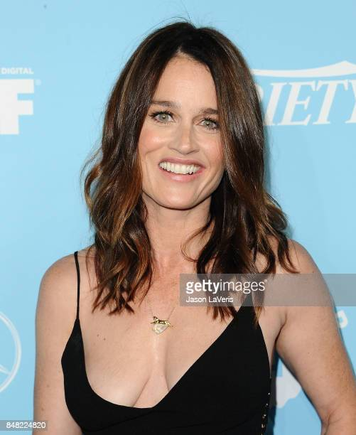 Actress Robin Tunney attends Variety and Women In Film's 2017 preEmmy celebration at Gracias Madre on September 15 2017 in West Hollywood California