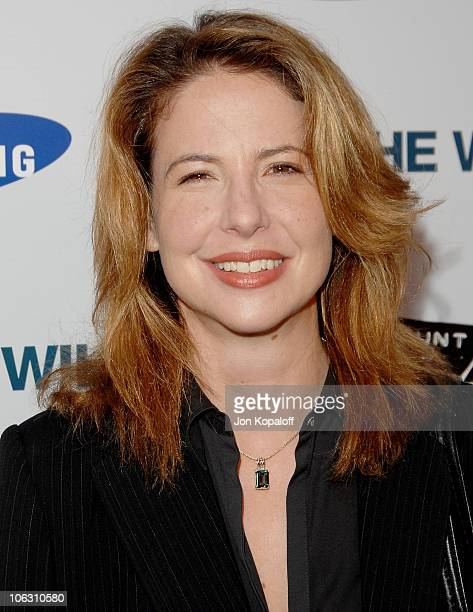 Actress Robin Weigert arrives at the Los Angeles Premiere Into The Wild at the Directors Guild of America on September 18 2007 in West Hollywood...
