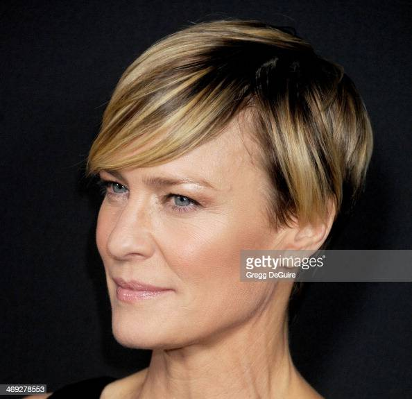 """Actress Robin Wright Arrives At The """"House Of Cards"""