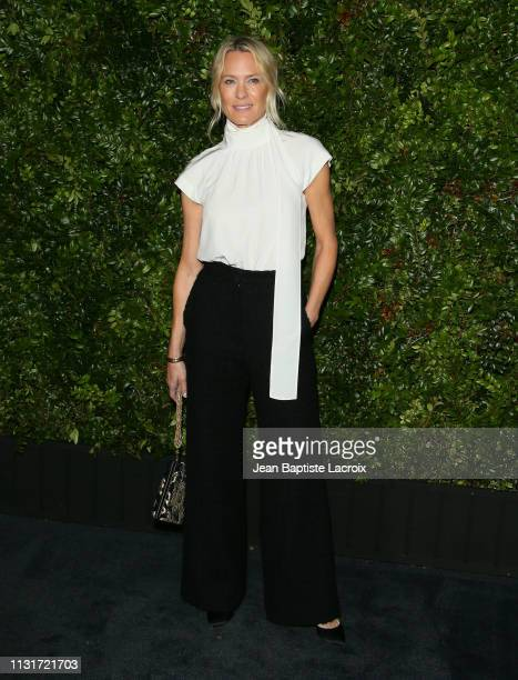 Actress Robin Wright attends Charles Finch And CHANEL's 11th Annual Pre-Oscar Awards Dinner at Polo Lounge at The Beverly Hills Hotel on February 23,...