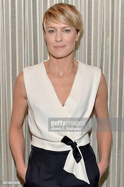 Actress Robin Wright attends the 14th annual AFI Awards Luncheon at the Four Seasons Hotel Beverly Hills on January 10 2014 in Beverly Hills...