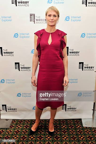 Actress Robin Wright attends the 17th Annual Webby Awards at Cipriani Wall Street on May 21 2013 in New York City