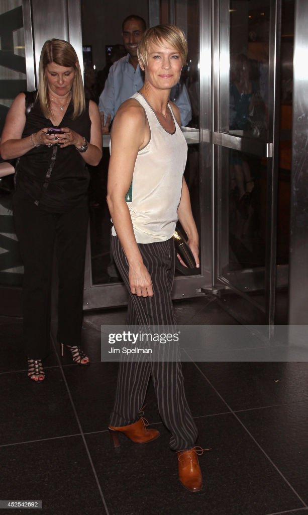 """The Cinema Society And Montblanc Host The Premiere Of Lionsgate And Roadside Attractions' """"A Most Wanted Man"""" - Outside Arrivals"""