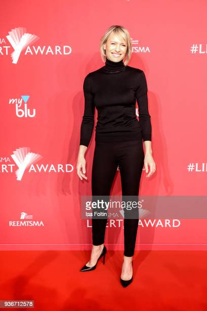 US actress Robin Wright attends the Reemtsma Liberty Award 2018 on March 22 2018 in Berlin Germany