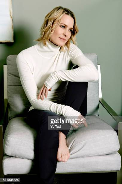 Actress Robin Wright is photographed for Rhapsody Magazine on March 23 2017 in Los Angeles California Published Image