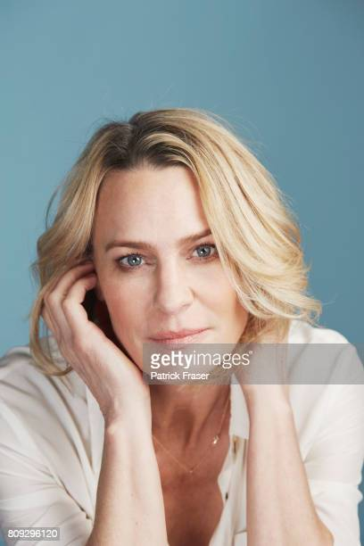 Actress Robin Wright is photographed for The Observer Magazine on March 23 2017 in Santa Monica California