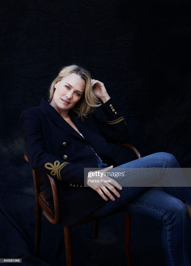 Actress Robin Wright is photographed for The Observer Magazine on March 23, 2017 in Santa Monica, California.