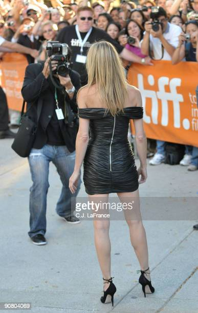 Actress Robin Wright Penn arrives at the 'The Private Lives of Pippa Lee' screening during the 2009 Toronto International Film Festival held at Roy...