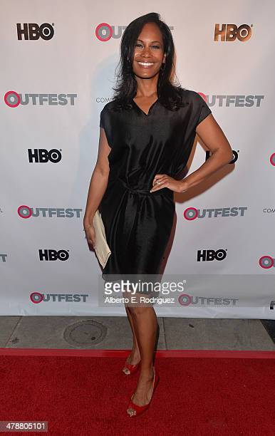 """Actress Robinne Lee arrives to the Outfest Fusion LGBT People of Color Film Fetival Opening Night Screening of """"Blackbird"""" at the Egyptian Theatre on..."""