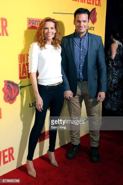 Actress Robyn Lively and Bart Johnson attend premiere of Pantelion Films' 'How To Be A Latin Lover' at ArcLight Cinemas Cinerama Dome on April 26...