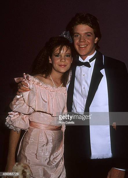 Actress Robyn Lively and brother actor Jason Lively attend the Young Artists Foundation's Seventh Annual Youth in Film Awards on December 15 1985 at...