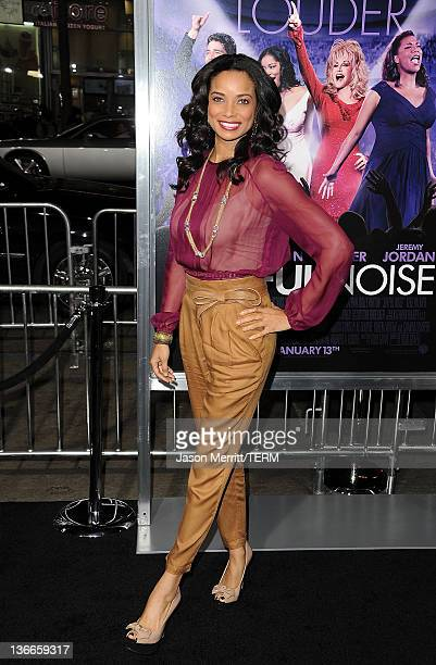 Actress Rochelle Aytes arrives at the premiere of Warner Bros Pictures' Joyful Noise held at Grauman's Chinese Theatre on January 9 2012 in Hollywood...