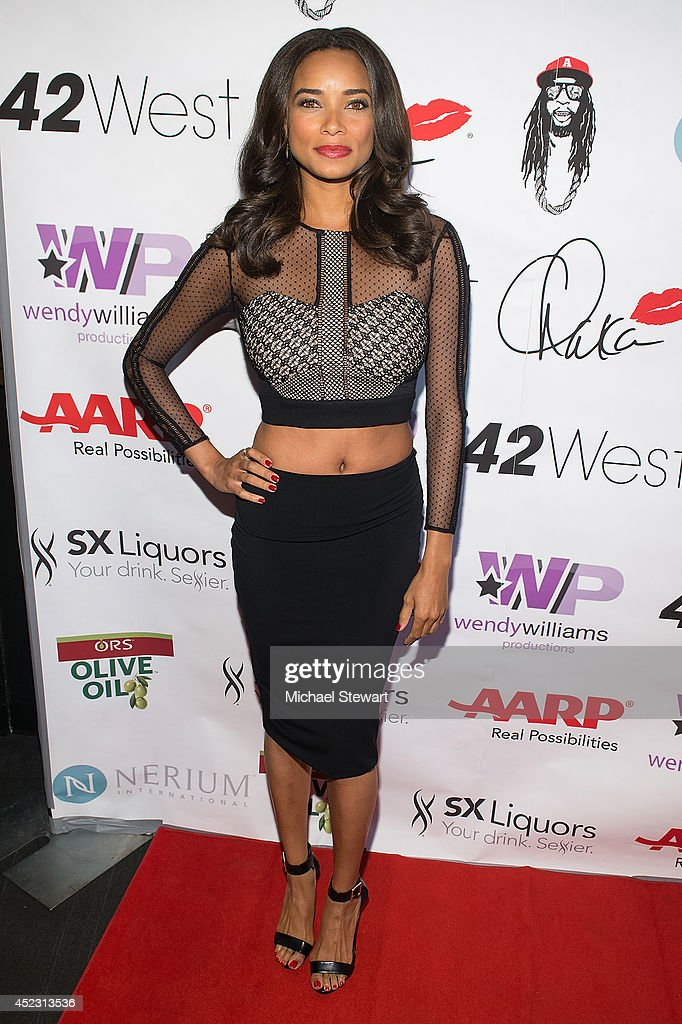 Actress Rochelle Aytes attends Wendy Williams' 50th Birthday Party at 42West on July 17, 2014 in New York City.