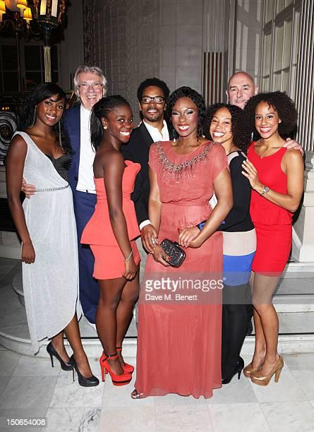 Actress Rochelle Neil Soul Sister cocreator John Millar actors Aisha Jawando Chris Tummings Emi Wokoma and Joanne Sandi Soul Sister cocreator Pete...