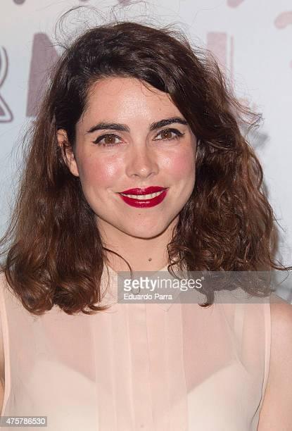 Actress Rocio Leon attends 'Requisitos para ser una persona normal' premiere at Palafox cinema on June 3 2015 in Madrid Spain