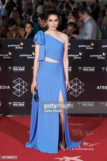 Actress Rocio Molina attends 'Las Distancias' premiere during the 21th Malaga Film Festival at the Cervantes Theater on April 17 2018 in Malaga Spain