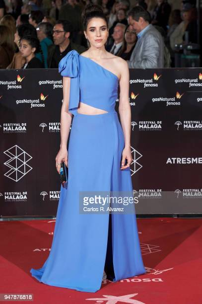 Actress Rocio Molina attends 'Las Distancias' premiere during the 21th Malaga Film Festival at the Cervantes Theater on April 17 2018 in Malaga Spain
