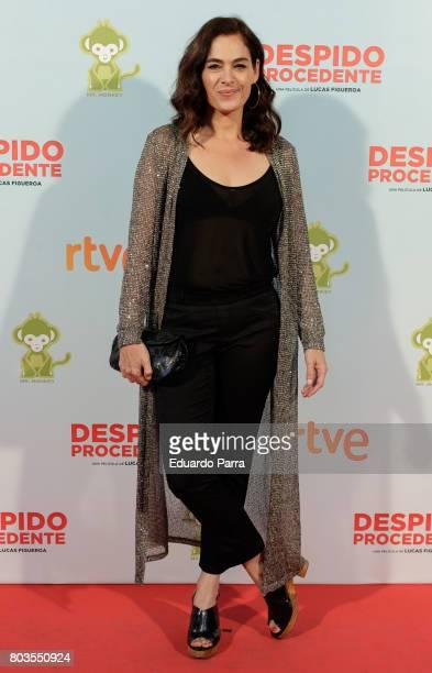 Actress Rocio Munoz attends the 'Despido procedente' photocall at Callao cinema on June 29 2017 in Madrid Spain
