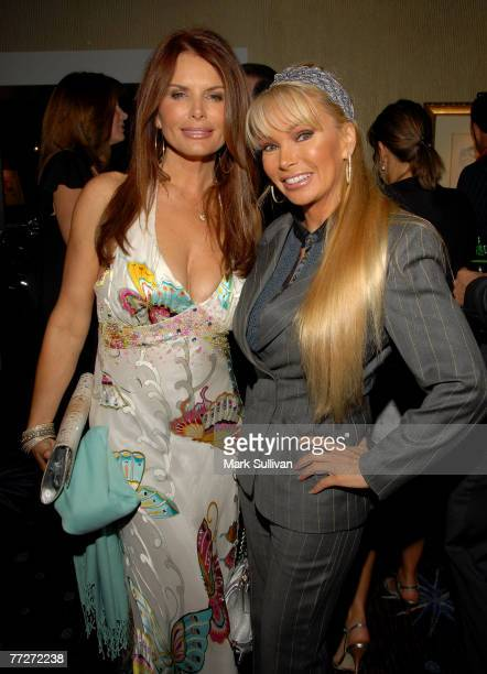 Actress Roma Downey and Suzan Hughes attend Operation Smile's 25th Annual Gala held in Beverly Hills, California on October 5, 2007.