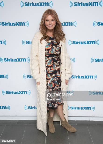 Actress Roma Downey visits the SiriusXM Studios on March 8 2018 in New York City