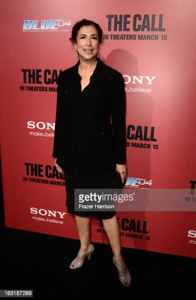 Actress Roma Maffia arrives at the premiere of Tri Star Pictures' The Call at ArcLight Cinemas on March 5 2013 in Hollywood California