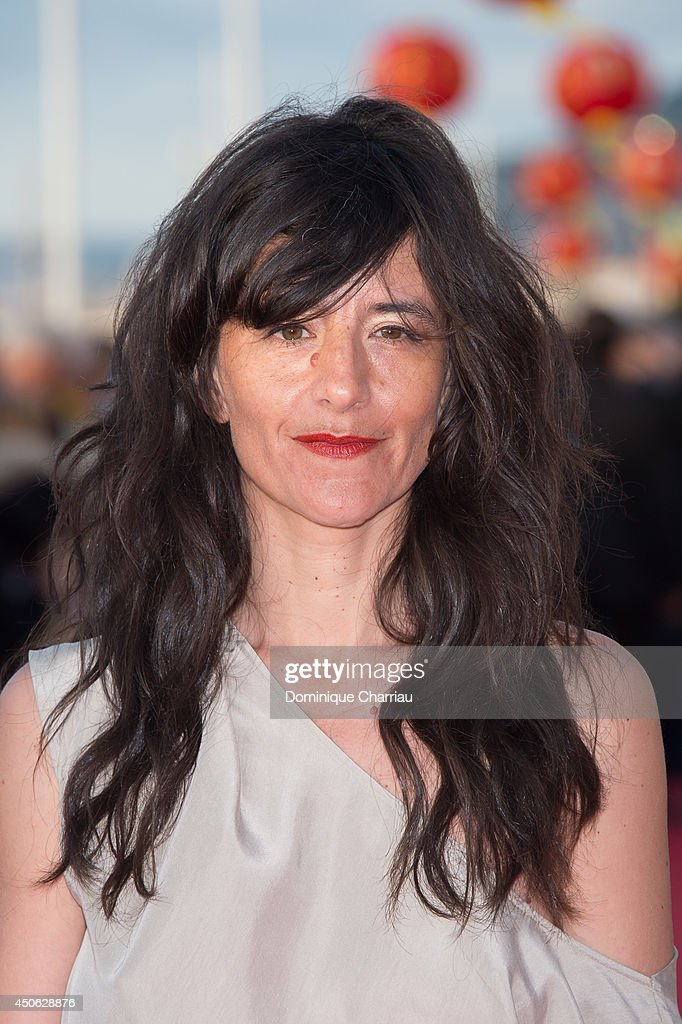 Actress Romane Bohringer attends the 28th Cabourg Film Festival : Day 4 on June 14, 2014 in Cabourg, France.